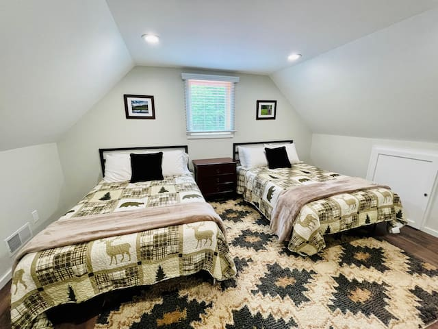 "Upstairs ""bunk"" room"