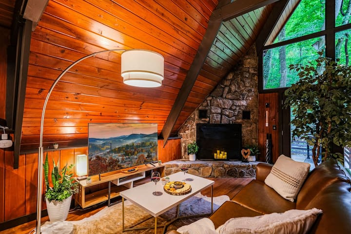 Doesn't that living room look cozy?