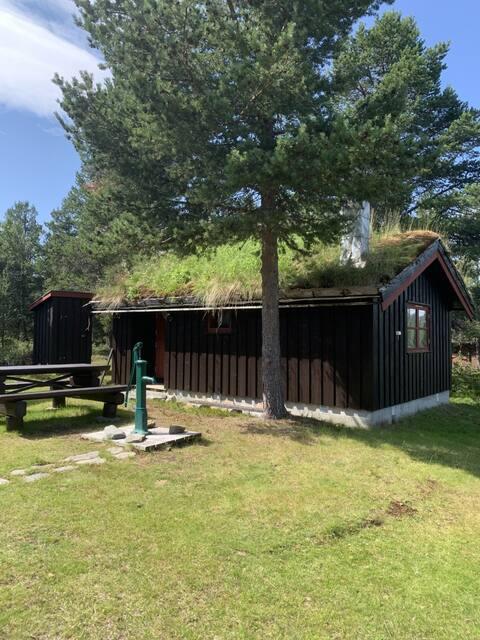 Приложение с прекрасным видом на Kvamsfjellet / Rondane