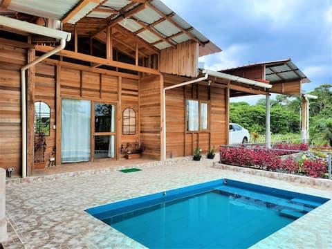 Green House 2. Descanso en la Amazonia