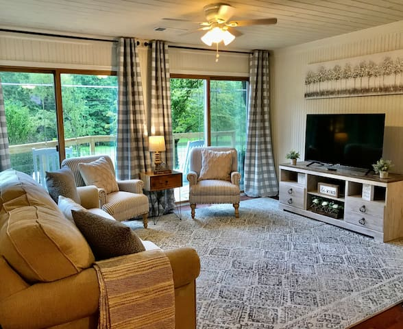 Enjoy time with those you love in this beautiful peaceful living area.