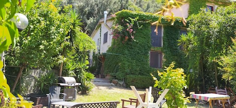 Villetta con giardino a 200 m dal mare