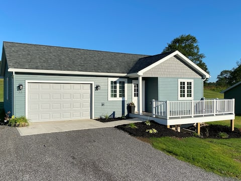 Brand new home in rural PA with UTV rentals