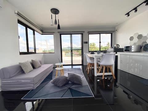 Nordic Design Studio Type Unit w/ Roof Deck & View