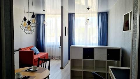 Стильные  апартаменты в ЖК Мельница.