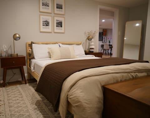 Modern & Spacious luxury 1-bedroom Apartment