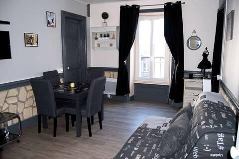 Bel appartement en résidence au cœur de la ville.