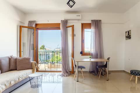 Apartment Heraklion wifi/smart TV/AC