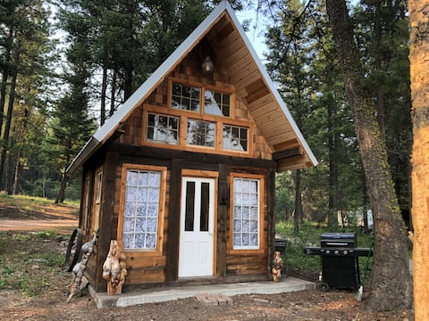 Rustic tiny home with 1-bedroom and lots of love