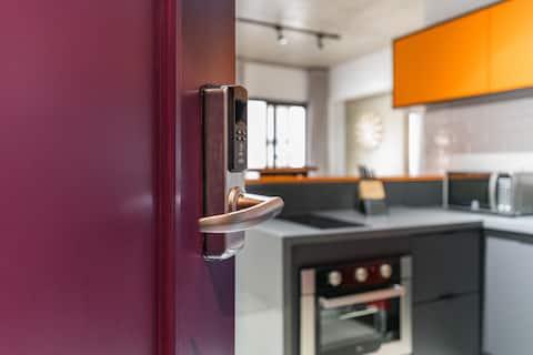Apartamento lindo, confortável e bem localizado.