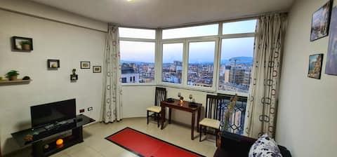 Centro de Tirana - Increíble vista de la ciudad