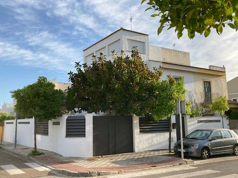 Casa ChillOut a 6km de Sevilla Piscina comunitaria