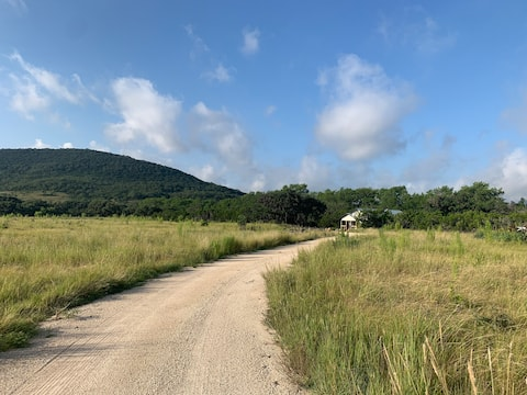 Secluded Ranch House with Views, Near Lost Maples