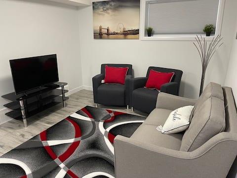 1-Bedroom basement suite with Wifi & Netflix