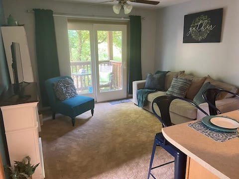 Lovely 1 BR condo with free parking