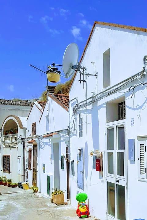 Casa Lammia nel dirupo a Pisticci, confortevole