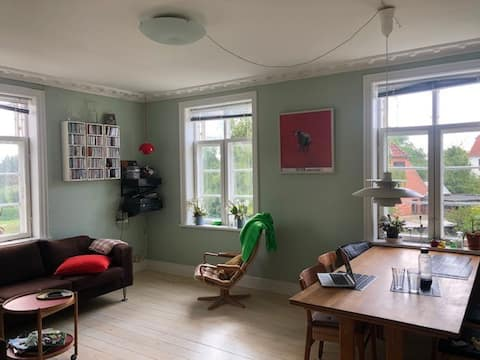 Spacious, charming appartment 10 min from Cph