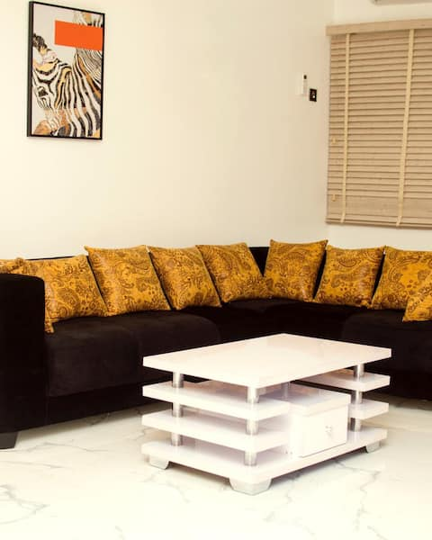 Two BR Tastefully Furnished Apartment in Warri