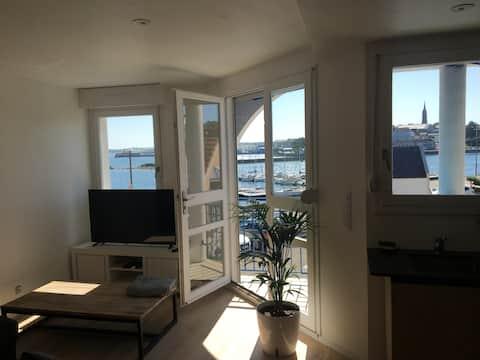 Appartement avec superbe vue sur la mer