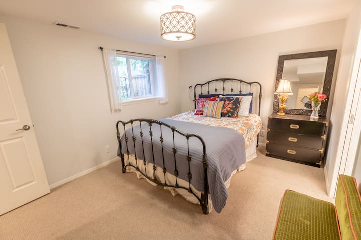 Private suite includes an en suite.
