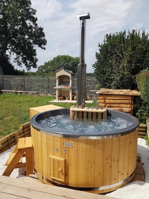 Gîte du rucher avec bain nordique