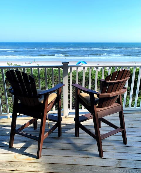 Our Oceanfront Oasis at Indian Beach, NC