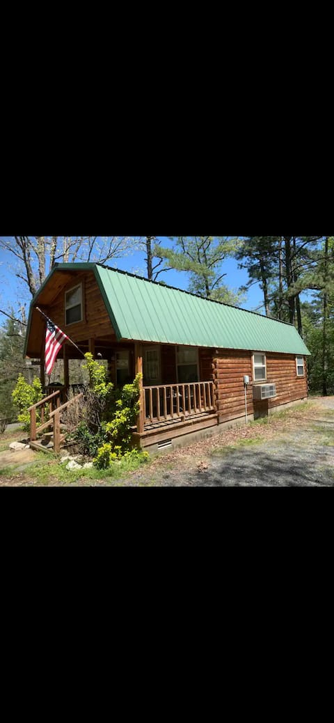 The Mabry's Cabin in the woods