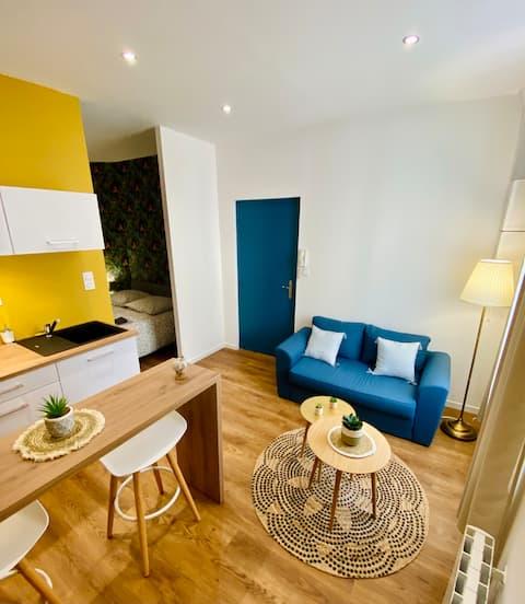 Studio en plein coeur du centre-ville de Saumur