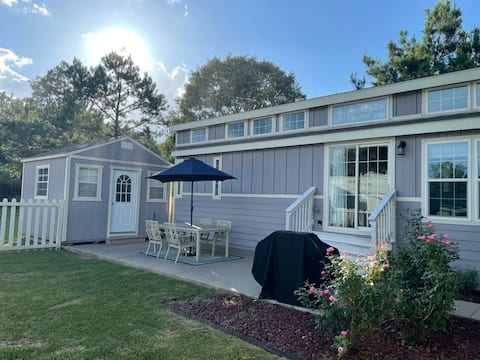 CLOTHING OPTIONAL, ADULT-ONLY RV RESORT TINY HOME