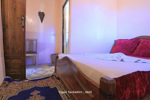 Twin Room with private Bathroom Tacheddirt, Imlil