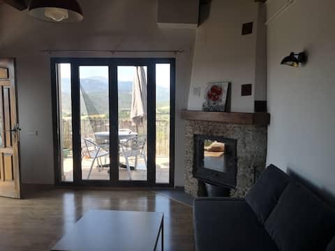 apartamento con terraza y sus vistas panorámicas