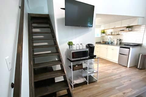 Entire Private Remodeled Loft with Private Deck