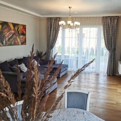 Melnrage beach cozy apartments & terrace