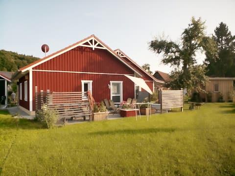 Schnuggeliges Ferienhaus mit Koppelblick