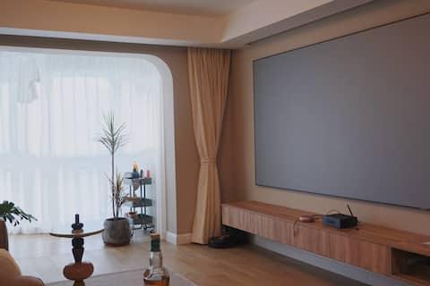 Shanghai|苏州河畔北欧风暖心小屋  地铁房,直达虹桥枢纽、南京东路、静安寺《拍摄请提前沟通》