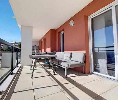 appartement avec vue imprenable sur Marseille