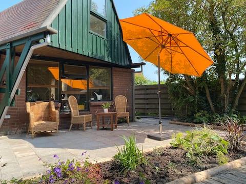 Cottage in un ambiente tranquillo e verde