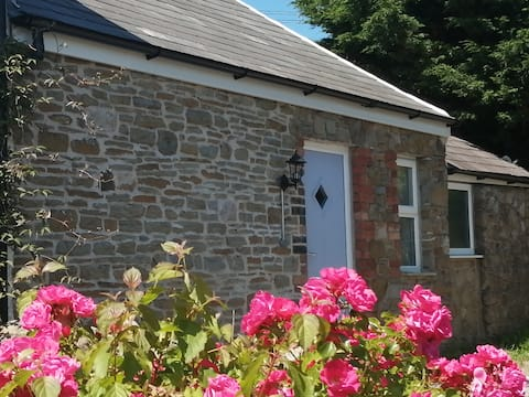 Newly converted rural stone cottage, Swansea