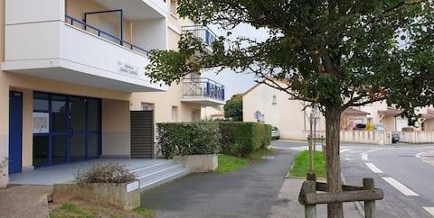 Appartement entier 65m2 2 chambres, CHU + parking