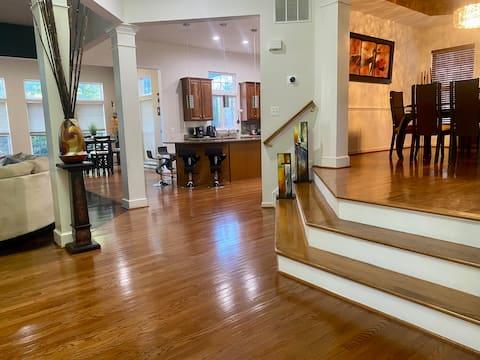 CLEAN/LUXURY HOME near Washington DC area
