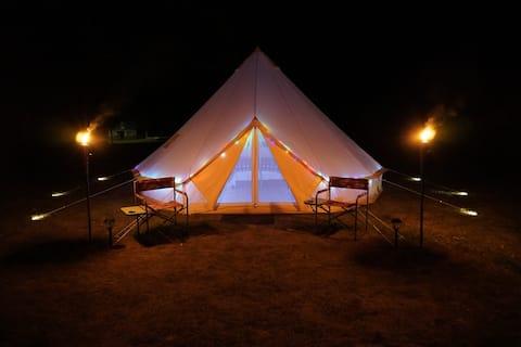 Quaint Heated Yurt On 40 Acre Farm