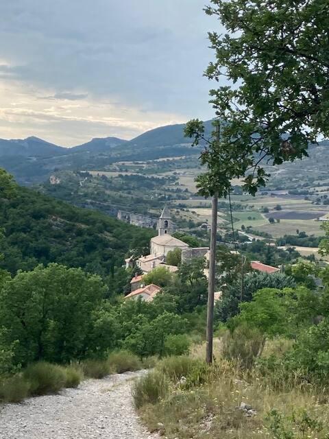 Drôme provençale : agréable maison de village