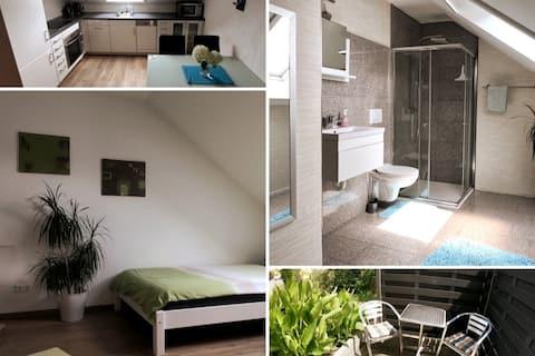 Appartement moderne à Durmersheim (jusqu'à 4 pers.)