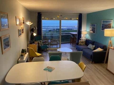 Côte d'Opale : charmant appartement face mer