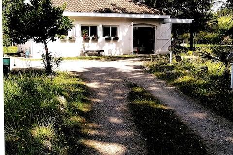 Villa coquette 10mn de Dax 30mn  océan 4 personnes