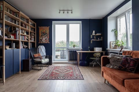 Атмосферная квартира с удобным расположением
