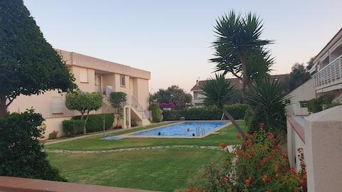Apartamento en complejo residencial, a 50m del Mar