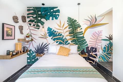 Villa Marañón - privékamer met airconditioning en zwembad