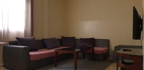 Cozy new 1-bedroom apartment with free parking