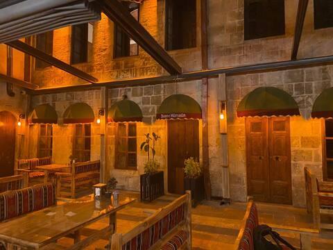 Gaziantep'in merkezinde tarihi konak